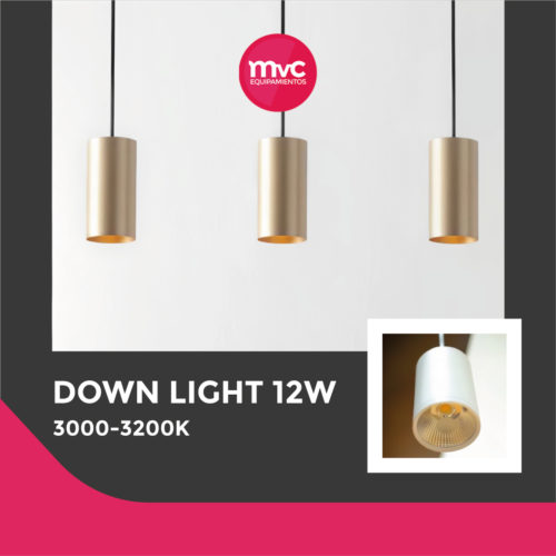 Down Light 12W 3000-3200K Blanco