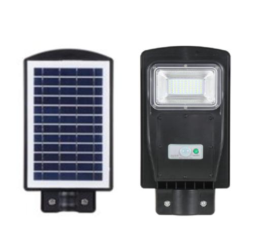 Foco LED Solar Tipo Calle con Sensor y Fotocélula 20W 6500K